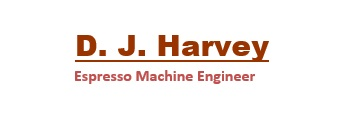 D.J.Harvey Espresso Machine Engineer